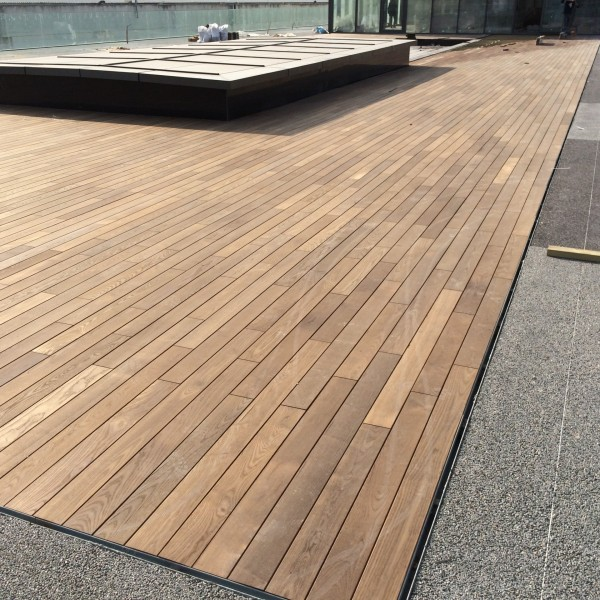 Thermowood deck d eme pt 001 for Timber decking thickness